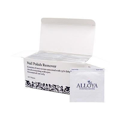 ALLOYA英國愛若雅 卸甲包(水性指甲油專用)1盒100片