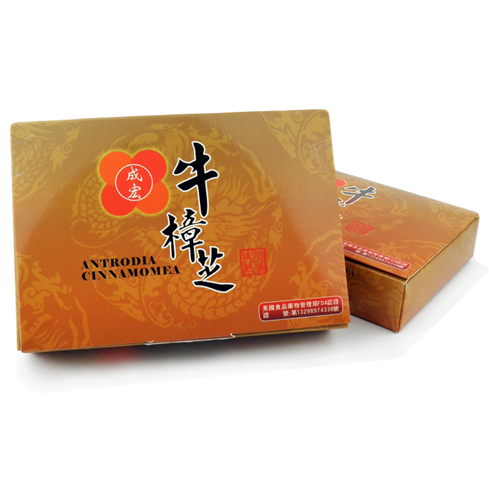 【成宏】極品牛樟芝膠囊1盒(60顆)
