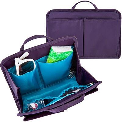 TRAVELON RFID包內安全收納包(紫M)