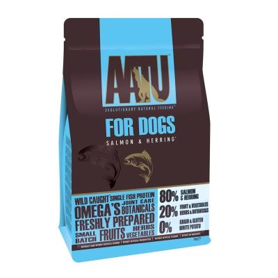 AATU 奧圖  嚴選鮭魚+鯡魚 低敏無穀挑嘴全齡犬糧 5kg