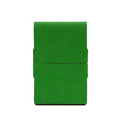 FEDON 1919 Classica經典皮面雙開名片夾-綠
