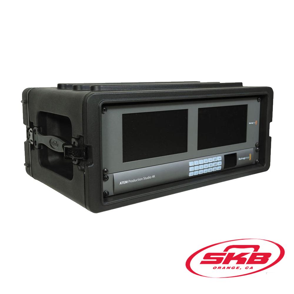 SKB Cases-4U淺架Roto機架機箱1SKB-R4S
