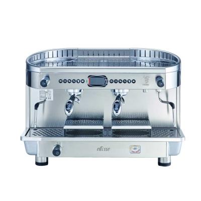BEZZERA ELLISSE-2011-DE-PID-2GR 電子式溫控營業用半自動咖啡