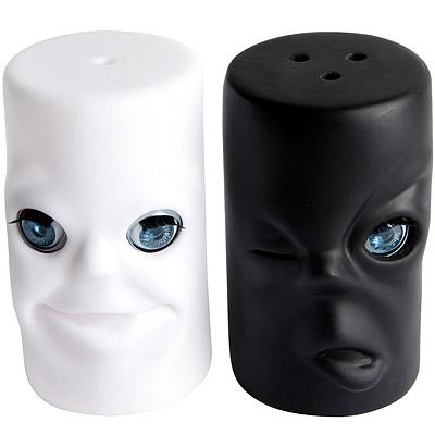 KIKKERLAND 黑白眨眼調味罐