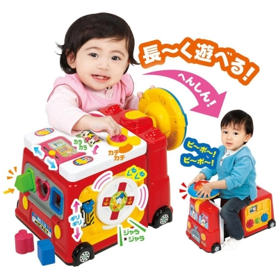 迪士尼幼兒-米奇米妮噗噗變身車