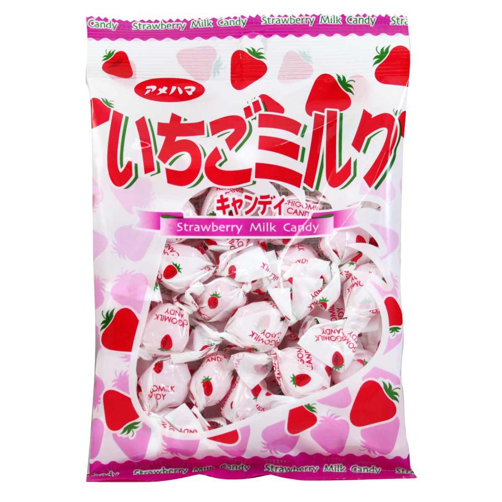Amehama 草莓牛奶糖(95g)
