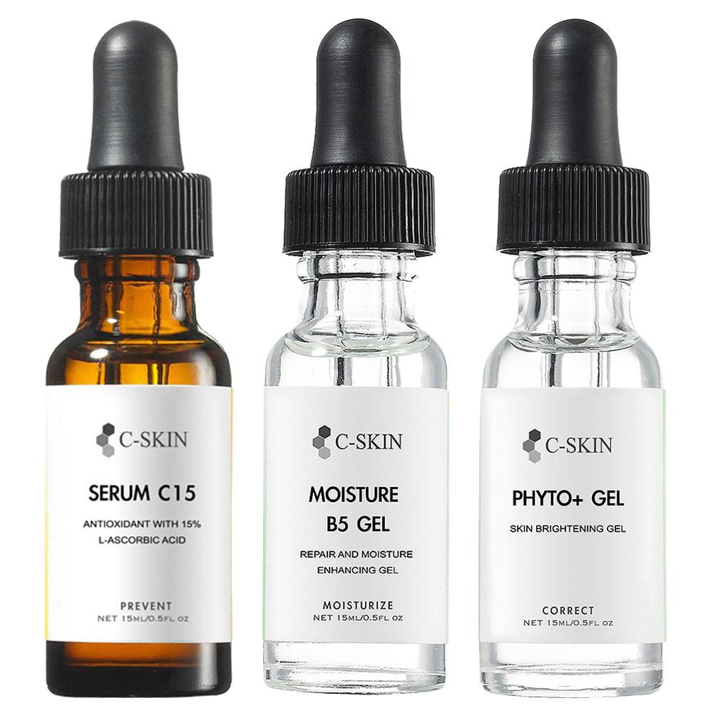 C-Skin杜克 C15%色修淡斑組(15ml)(送杜克體驗品*2)