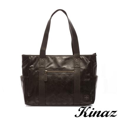 KINAZ-navy-穿梭夜幕托特包-黑夜騎士系列-特賣品