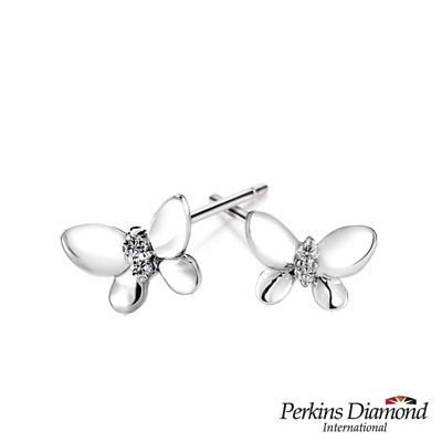 PERKINS 伯金仕 - Butterfly系列 鑽石耳環