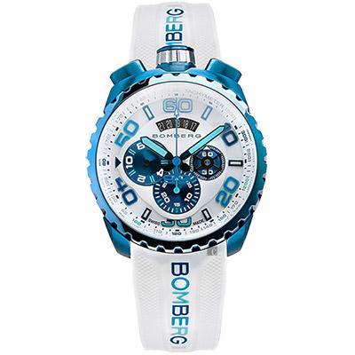 BOMBERG 炸彈錶 BOLT-68 冰雪登山計時手錶-45mm