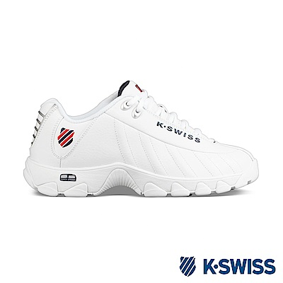 K-swiss ST 329 CMF休閒運動老爹鞋-男-白/藍/紅