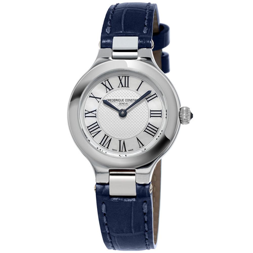 康斯登 CONSTANT  CLASSICS百年經典系列DELIGHT腕錶-藍/28mm