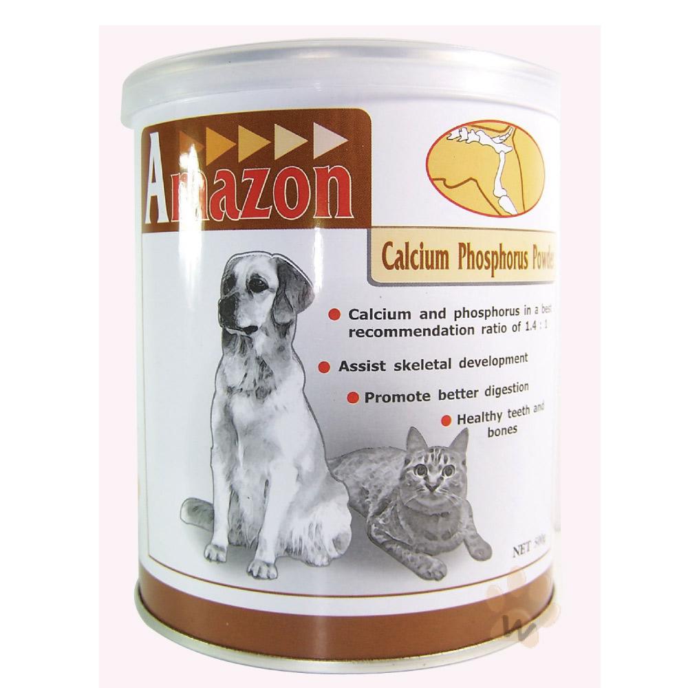 愛美康Amazon《天然犬/貓鈣磷粉(500g)》一入組