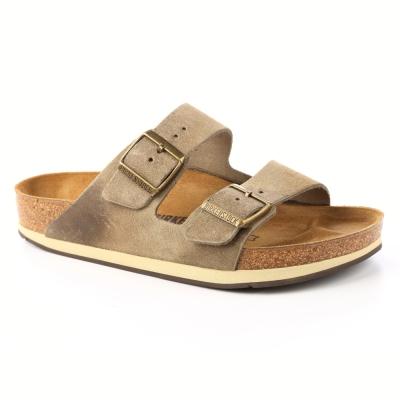 勃肯BIRKENSTOCK1000664亞利桑那經典二條拖鞋(復古鏽色)