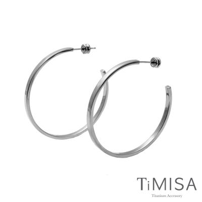 TiMISA 活力漾彩-原色 針式純鈦耳環