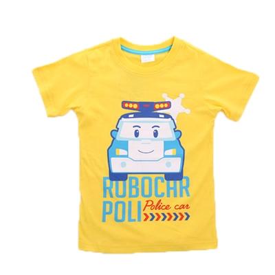 POLI純棉短袖T恤 k50075