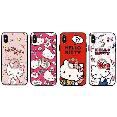 GARMMA  Hello Kitty iPhone X- 雙料指環殼