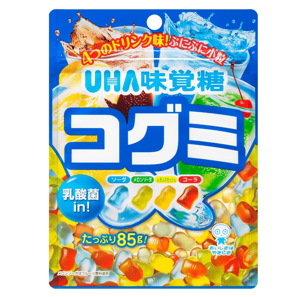 味覺糖 酷Q彌軟糖-綜合汽水味(85g)
