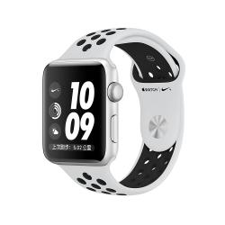 Apple Watch Nike+ GPS, 38mm銀鋁金屬錶殼