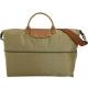 LONGCHAMP Le pliage 拉鍊伸縮尼龍兩用旅行袋(橄欖綠) product thumbnail 1