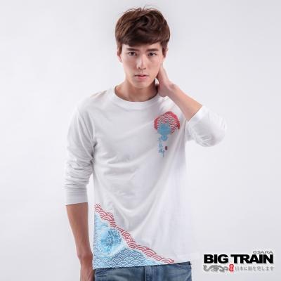 BIG TRAIN-青龍魂發熱TEE-白