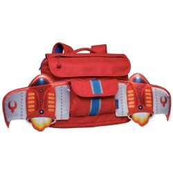 美國Bixbee - 飛飛童趣系列火鳥紅噴射機小童背包