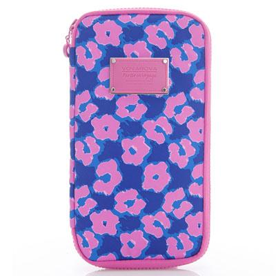 VOVAROVA空氣包-環遊世界護照夾-粉紫棉花糖