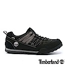 Timberland 男款黑色線條拼色休閒鞋|A18OB