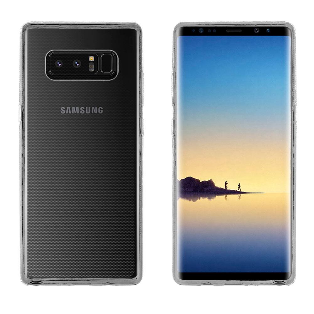 Metal-Slim Samsung Galaxy Note 8 時尚超薄TPU透明軟殼