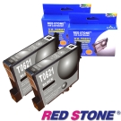 RED STONE for EPSON T062150(黑色×2)[高容量]墨水匣組