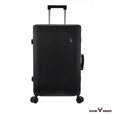 RAIN DEER 20吋秋之旅PC+ABS鋁框行李箱-神秘黑