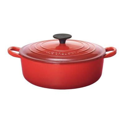 LE-CREUSET-琺瑯鑄鐵燉飯鍋-24cm