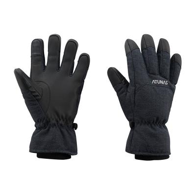 【ATUNAS 歐都納】A-A1743黑灰 防水蓄溫保暖透氣輕量手套