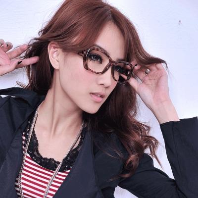 Aimee-Toff-時尚豹紋造型先鋒膠框眼鏡-豹