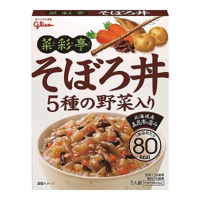 Glico格力高 菜彩亭雞鬆丼(140g)