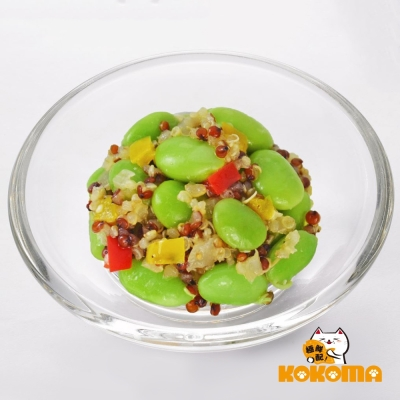 (好康499免運)極鮮配 健康潮食藜麥毛豆  (200G±10%/包)