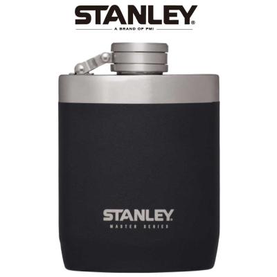 【美國Stanley】強悍系列酒壺0.24L-磨砂黑