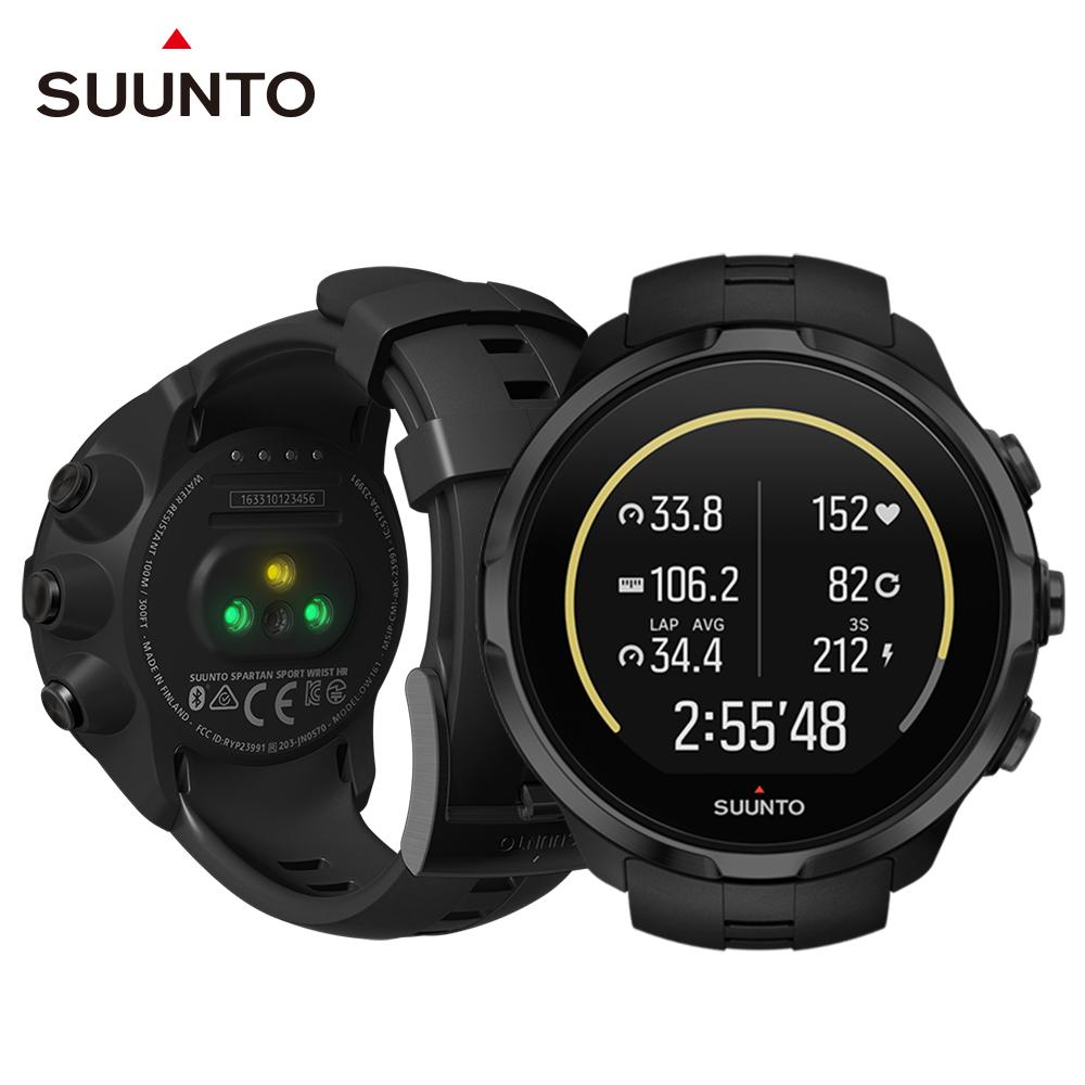 SUUNTO SpartanSportWristHR彩色觸控腕式心率GPS腕錶-經典黑