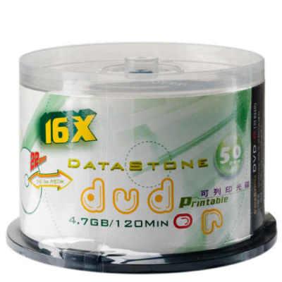 DataStone DVD-R 16X 珍珠白 滿版可印 (50片)