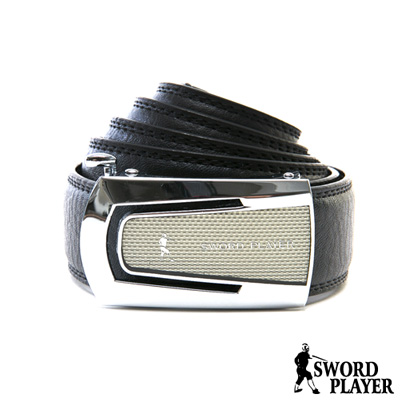 SWORD PLAYER - 莎普爾英爵款皮革式自動扣皮帶