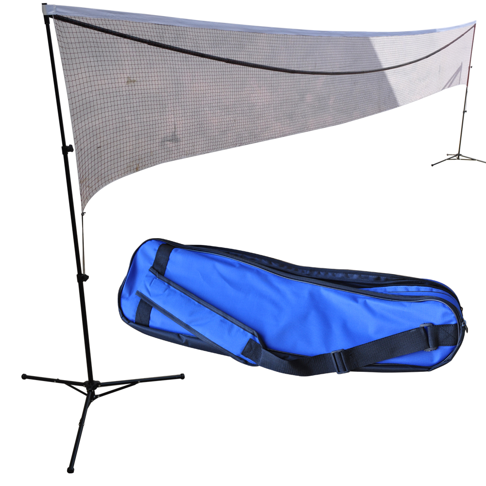 【行動式】3m羽毛球網架(附背袋)