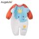 baby童衣 連身衣 空氣棉動物造型長袖爬服