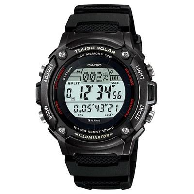 CASIO 太陽能全方位運動數位錶(黑框)