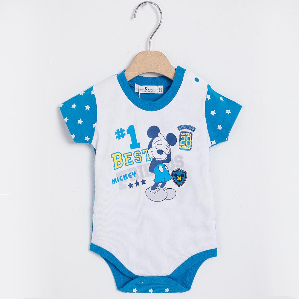 奇哥 米奇包屁衣-星星(6-18個月)