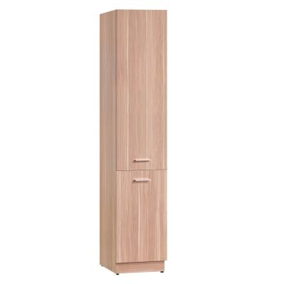 品家居 潘迪1.3尺木門雙面鞋櫃/玄關櫃(兩色可選)-40x38x197cm-免組