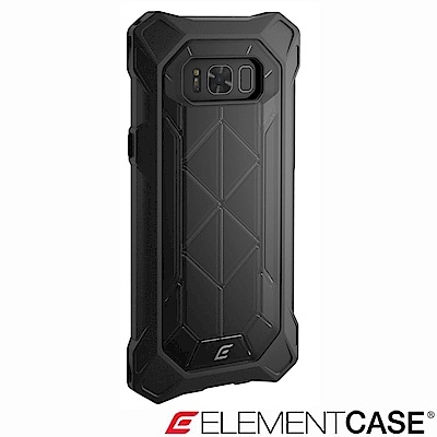 美國Element Case Samsung Galaxy S8+ REV 防摔保護殼-黑