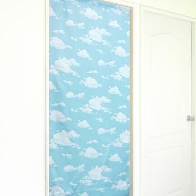 布安於室-藍天白雲遮光風水簾