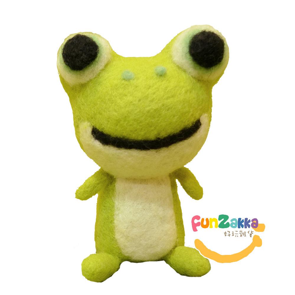 雙手牌 羊毛氈材料包-小青蛙