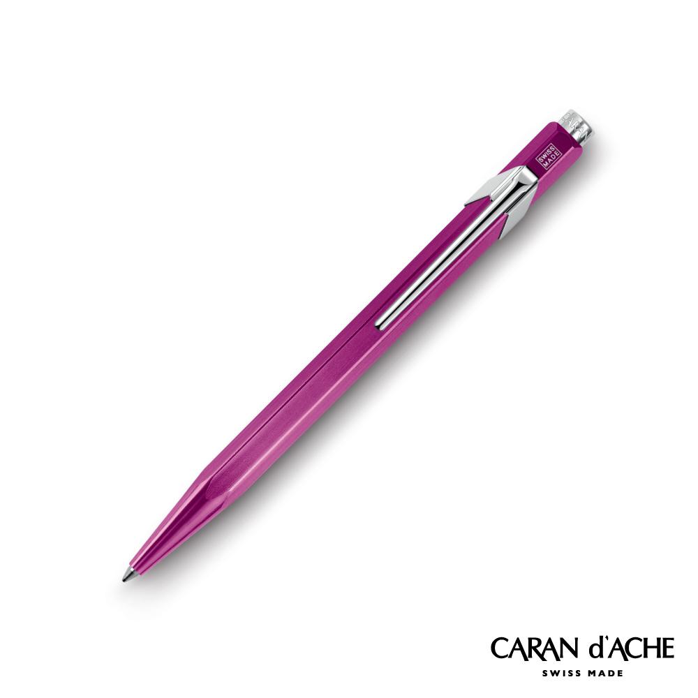 CARAN dACHE 卡達 - Office│line 849系列 金屬紫 原子筆