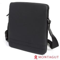 MONTAGUT夢特嬌-100%頭層牛皮側背包(直式)